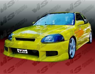 VIS Racing - Honda Civic VIS Racing Tracer Front Bumper - 96HDCVC2DTRA-001