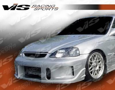 VIS Racing - Honda Civic VIS Racing TSC-2 Front Bumper - 96HDCVC2DTSC2-001