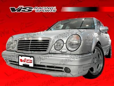 VIS Racing - Mercedes-Benz E Class VIS Racing Euro Tech Front Bumper - 96MEW2104DET-001