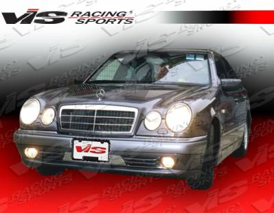VIS Racing - Mercedes-Benz E Class VIS Racing Laser Front Bumper - 96MEW2104DLS-001