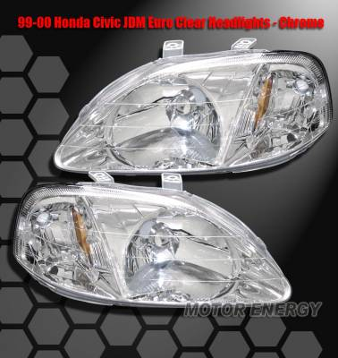 Custom - Crystal Head Lights Chrome