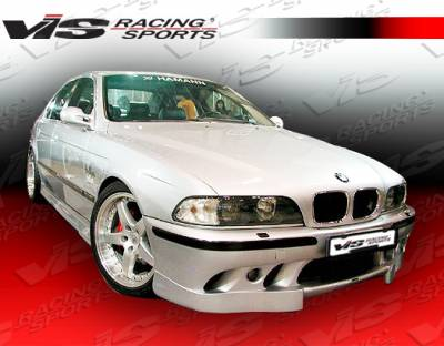 VIS Racing - BMW 5 Series VIS Racing Euro Tech Front Bumper - 97BME394DET-001