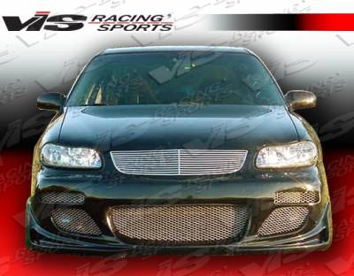 VIS Racing - Chevrolet Malibu VIS Racing Cyber Front Bumper - 97CHMAL4DCY-001