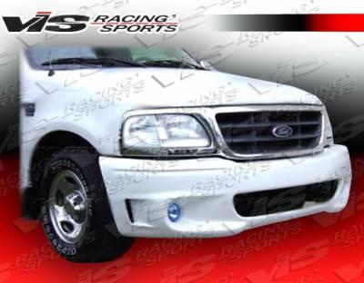 VIS Racing - Ford F150 VIS Racing Lighting-2 Front Bumper - 97FDF152DLIG2-001