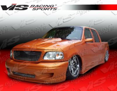 VIS Racing - Ford F150 VIS Racing SS Front Bumper - 97FDF152DSS-001