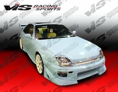VIS Racing - Honda Prelude VIS Racing Battle Z Front Bumper - 97HDPRE2DBZ-001