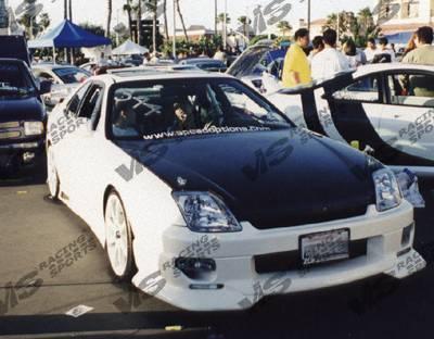 VIS Racing - Honda Prelude VIS Racing Strada F2 Front Bumper - 97HDPRE2DSF2-001