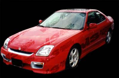 VIS Racing - Honda Prelude VIS Racing Techno R Front Bumper - 97HDPRE2DTNR-001