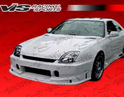 VIS Racing - Honda Prelude VIS Racing TSC Front Bumper - 97HDPRE2DTSC-001