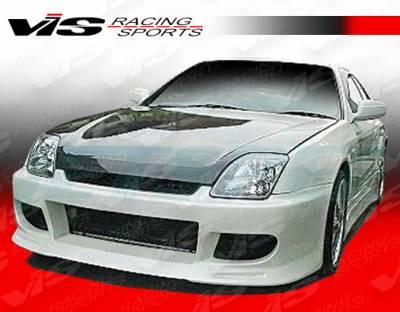 VIS Racing - Honda Prelude VIS Racing V Speed Front Bumper - 97HDPRE2DVSP-001