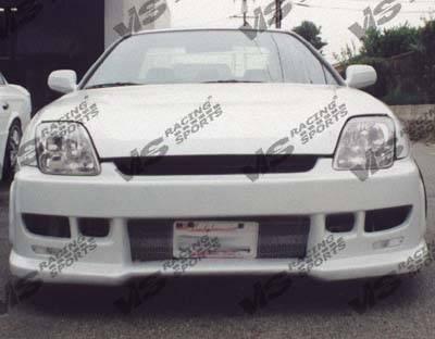 VIS Racing - Honda Prelude VIS Racing Z1 boxer Front Bumper - 97HDPRE2DZ1-001