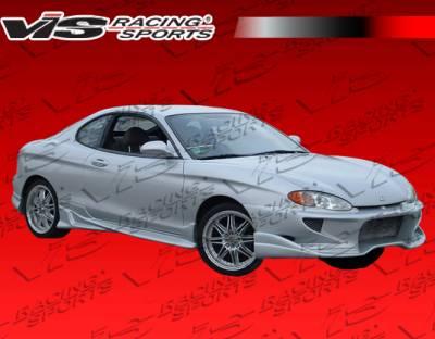 VIS Racing - Hyundai Tiburon VIS Racing Invader Front Bumper - 97HYTIB2DINV-001