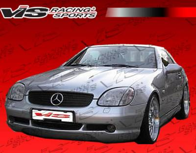 VIS Racing - Mercedes-Benz SLK VIS Racing Euro Tech Front Bumper - 97MER1702DET-001