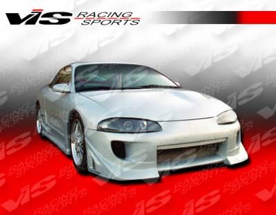 VIS Racing - Mitsubishi Eclipse VIS Racing Battle Z Front Bumper - 97MTECL2DBZ-001