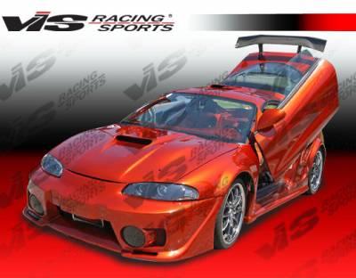 VIS Racing - Mitsubishi Eclipse VIS Racing EVO-5 Front Bumper - 97MTECL2DEVO5-001