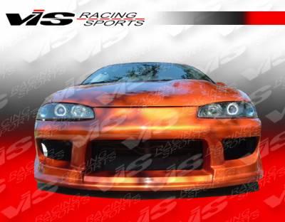 VIS Racing - Mitsubishi Eclipse VIS Racing Striker Front Bumper - 97MTECL2DSTR-001
