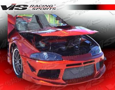 VIS Racing - Mitsubishi Eclipse VIS Racing Striker X Front Bumper - 97MTECL2DSTRX-001