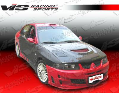 VIS Racing - Mitsubishi Mirage 4DR VIS Racing Rally Front Bumper - 97MTMIR4DJRAL-001