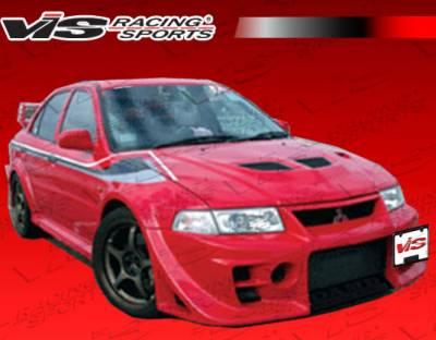 VIS Racing. - Mitsubishi Mirage 4DR VIS Racing Walker GT Front Bumper - 97MTMIR4DJWGT-001