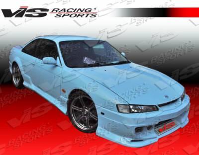 VIS Racing - Nissan 240SX VIS Racing Demon Front Bumper - 97NS2402DDEM-001
