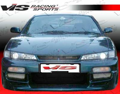 VIS Racing - Nissan 240SX VIS Racing Xtreme Front Bumper - 97NS2402DEX-001