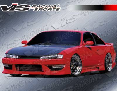 VIS Racing - Nissan 240SX VIS Racing G Speed Front Bumper - 97NS2402DGSP-001