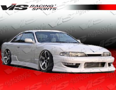 VIS Racing - Nissan 240SX VIS Racing V-Spec Type-2 Front Bumper - 97NS2402DVSC2-001