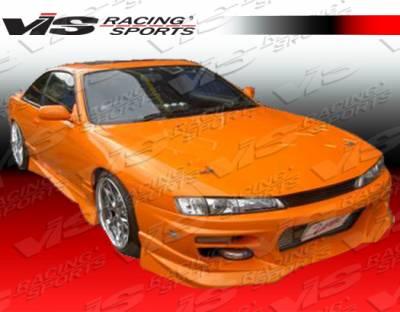VIS Racing - Nissan 240SX VIS Racing V Spec S Front Bumper - 97NS2402DVSCS-001