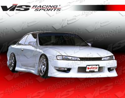 VIS Racing - Nissan 240SX VIS Racing Wings Front Bumper - 97NS2402DWIN-001