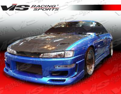 VIS Racing - Nissan 240SX VIS Racing Z Speed Front Bumper - 97NS2402DZSP-001