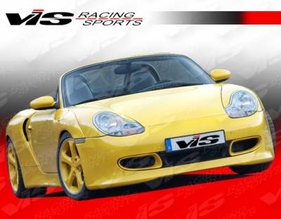 VIS Racing - Porsche Boxster VIS Racing A-Tech Wide Body Front Bumper - 97PSBOX2DATHWB-001