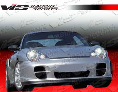 VIS Racing - Porsche Boxster VIS Racing D2 Front Lip - 97PSBOX2DD2-011