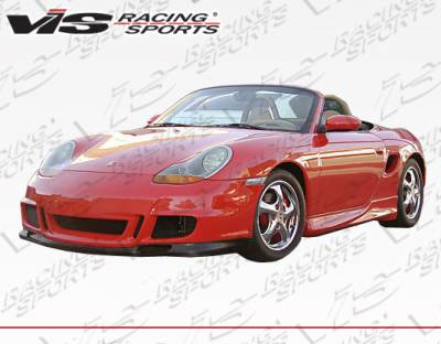 VIS Racing - Porsche Boxster VIS Racing GT3 RS Style Front Bumper - 97PSBOX2DGT3RS-001P