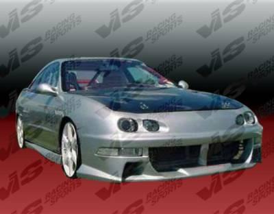 VIS Racing - Acura Integra VIS Racing Xtreme Front Bumper - 98ACINT2DEX-001