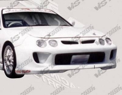 VIS Racing - Acura Integra VIS Racing Kombat Front Bumper - 98ACINT2DKOM-001