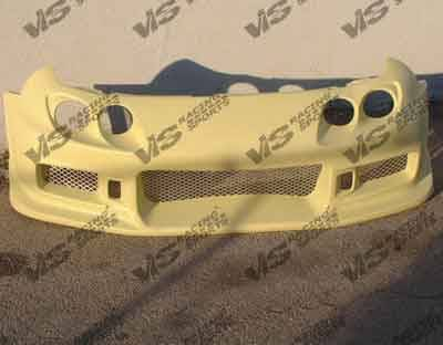 VIS Racing - Acura Integra 2DR VIS Racing Tracer-2 Front Bumper - 98ACINT2DTRA2-001