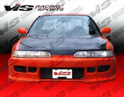 VIS Racing - Acura Integra VIS Racing Z1 boxer Front Bumper - 98ACINT2DZ1-001