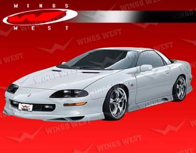 VIS Racing - Chevrolet Camaro VIS Racing JPC Front Lip - Polyurethane - 98CHCAM2DJPC-011P
