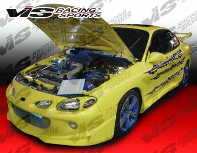 VIS Racing - Ford ZX2 VIS Racing Invader Front Bumper - 98FDZX22DINV-001