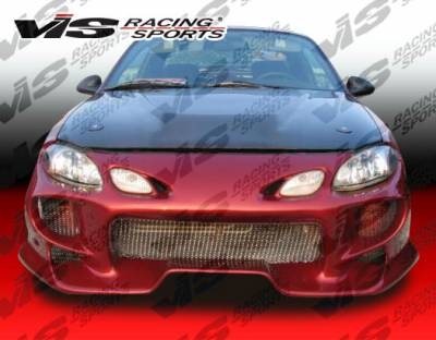 VIS Racing - Ford ZX2 VIS Racing Invader-2 Front Bumper - 98FDZX22DINV2-001