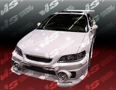 VIS Racing - Honda Accord 2DR VIS Racing EVO-3 Front Bumper - 98HDACC2DEVO3-001