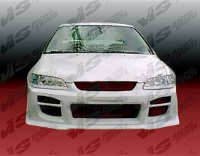 VIS Racing - Honda Accord 2DR & 4DR VIS Racing Octane Front Bumper - Polyurethane - 98HDACC2DOCT-001P