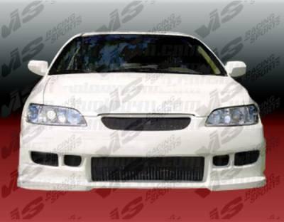 VIS Racing - Honda Accord 2DR & 4DR VIS Racing Z1 Boxer Front Bumper - Polyurethane - 98HDACC2DZ1-001P