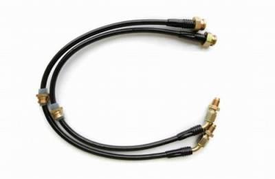 Agency Power - Mitsubishi Eclipse Agency Power Steel Braided Brake Lines - Rear - AP-DSM2GA-410