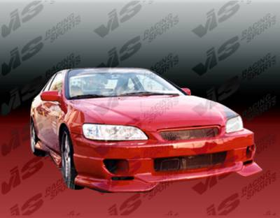 VIS Racing - Honda Accord 4DR VIS Racing Strada F2 Front Bumper - 98HDACC4DSF2-001
