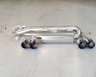 Agency Power - BMW 3 Series Agency Power Mufflers with Titanium Tips - AP-E46M3-170