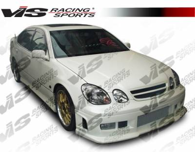 VIS Racing - Lexus GS VIS Racing Battle Z Front Bumper - 98LXGS34DBZ-001
