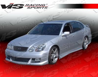 VIS Racing - Lexus GS VIS Racing Cyber-2 Front Bumper - 98LXGS34DCY2-001