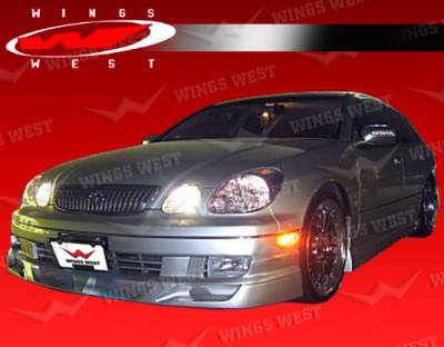 VIS Racing - Lexus GS VIS Racing JPC Type B Front Lip - Polyurethane - 98LXGS34DJPCB-011P