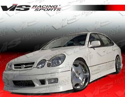 VIS Racing - Lexus GS VIS Racing V Speed Front Bumper - 98LXGS34DVSP-001